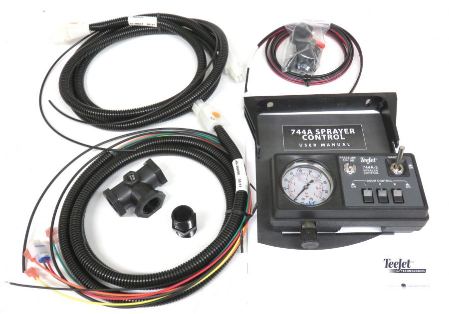 90-50149, 744A KIT W/100 PSI GAUGE, SOLENOID HARNESS, NO REGULATOR