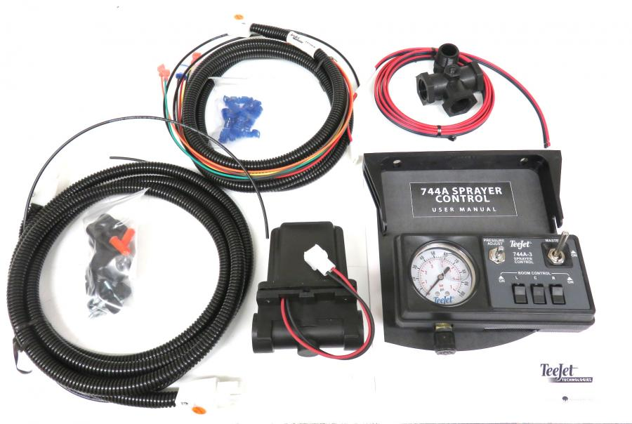 90-50161, 744a kit w/100 psi gauge, solenoid harness, 3/4