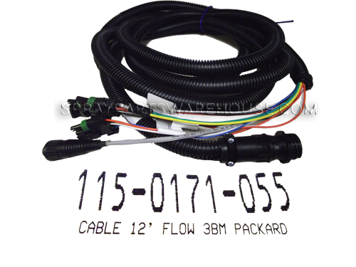 115-0171-055, 12' PRODUCT CABLE FOR 440, 3 SECTION BOOM WITH ... on