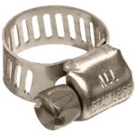 #6N STAINLESS STEEL NARROW BAND HOSE CLAMP