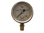 "GG200, 2-1/2"" LIQUID FILLED GAUGE 200 PSI"