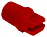 90A2CM30E00, SIZE 30 FANJET STRAIGHT STREAM SPRAY TIP NOZZLE RED