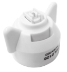 FC-ULD120-08, SIZE 08 120° ULTRA LO-DRIFT FASTCAP SPRAY TIP NOZZLE WHITE