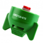 GRD120-015, SIZE 01 120° GUARDIAN FASTCAP SPRAY TIP NOZZLE GREEN