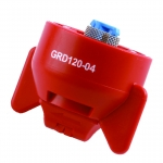 GRD120-04, SIZE 04 120° GUARDIAN FASTCAP SPRAY TIP NOZZLE RED