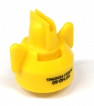 HF140-60, SIZE 60 140° HI-FLOW FASTCAP SPRAY TIP NOZZLE YELLOW