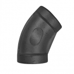 "LL114-45FO, 1-1/4"" FPT X 1-1/4"" FPT ELBOW 45° FORGED STEEL"