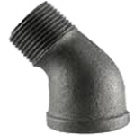 "SE114-45FO, 1-1/4"" MPT X 1-1/4"" FPT STREET ELBOW 45° FORGED STEEL"