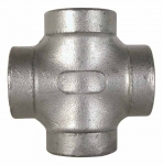 "7CR112, 1-1/2"" FPT CROSS STAINLESS STEEL"