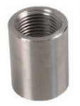 "7FC38, 3/8"" FPT X 3/8"" FPT COUPLING STAINLESS STEEL"