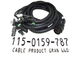 115-0159-787, 21' GRANULAR PRODUCT CABLE FOR 660