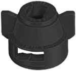 25610-1-NYR, BLACK FAN CAP LARGE (WITH GASKET)