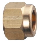 "CP20230, 11/16"" EXTENDED THREAD NOZZLE CAP BRASS"