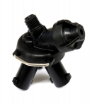 "24231A-NYB, 3 OUTLET UDDER NOZZLE BODY WITH 1/4""MPT INLET"