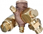 4418-2TOC-40, BOOMLESS NOZZLE WITH DOUBLE SWIVEL (CALL OR EMAIL FOR REGULAR PRICING)