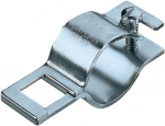 "QJ111-1, BOOM CLAMP 1"" ROUND PIPE WITH SQUARE HOLE"