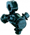 "QJ363C-1/2-NYB, 3 OUTLET NOZZLE BODY FOR 1/2"" PIPE"