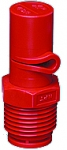 "1/2XP40L-VP, SIZE 40 XP BOOMJET BOOMLESS NOZZLE LEFT NOZZLE 1/2"" NPT RED (CALL OR EMAIL FOR REGULAR PRICING)"