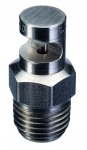 "1/4K-SS18, SIZE 18 FLOODJET 1/4"" NPT SPRAY TIP NOZZLE STAINLESS STEEL"