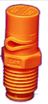 "1/4XP10R-VP, SIZE 10 XP BOOMJET BOOMLESS NOZZLE RIGHT NOZZLE 1/4"" NPT ORANGE (CALL OR EMAIL FOR REGULAR PRICING)"