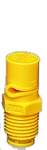 "1/4XP20R-VP, SIZE 20 XP BOOMJET BOOMLESS NOZZLE RIGHT NOZZLE 1/4"" NPT YELLOW (CALL OR EMAIL FOR REGULAR PRICING)"