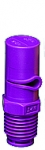 "1/4XP25L-VP, SIZE 25 XP BOOMJET BOOMLESS NOZZLE LEFT NOZZLE 1/4"" NPT VIOLET (CALL OR EMAIL FOR REGULAR PRICING)"