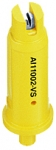 AI11002-VS, SIZE 02 110° AIR INDUCTION SPRAY TIP NOZZLE STAINLESS YELLOW (CALL OR EMAIL FOR REGULAR PRICING)