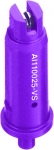 AI110025-VS, SIZE 025 110° AIR INDUCTION SPRAY TIP NOZZLE STAINLESS VIOLET (CALL OR EMAIL FOR REGULAR PRICING)