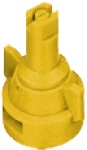 AIC11002-VP, SIZE 02 110° AIR INDUCTION SPRAY TIP & CAP NOZZLE POLY YELLOW (CALL OR EMAIL FOR REGULAR PRICING)