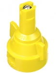 AIC11002-VS, SIZE 02 110° AIR INDUCTION SPRAY TIP & CAP NOZZLE STAINLESS YELLOW (CALL OR EMAIL FOR REGULAR PRICING)