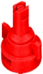 AIC11004-VP, SIZE 04 110° AIR INDUCTION SPRAY TIP & CAP NOZZLE POLY RED (CALL OR EMAIL FOR REGULAR PRICING)