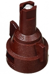 AIC11005-VK, SIZE 05 110° AIR INDUCTION SPRAY TIP & CAP NOZZLE CERAMIC BROWN (CALL OR EMAIL FOR REGULAR PRICING)