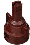 AIC11005-VP, SIZE 05 110° AIR INDUCTION SPRAY TIP & CAP NOZZLE POLY BROWN (CALL OR EMAIL FOR REGULAR PRICING)