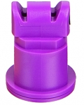 AITTJ60-110025VP, SIZE 025 110° AIR INDUCTION TURBO TWINJET SPRAY TIP NOZZLE VIOLET