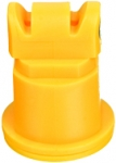 AITTJ60-11002VP, SIZE 02 110° AIR INDUCTION TURBO TWINJET SPRAY TIP NOZZLE YELLOW