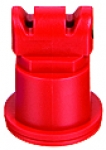AITTJ60-11004VP, SIZE 04 110° AIR INDUCTION TURBO TWINJET SPRAY TIP NOZZLE RED