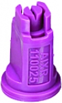 AIXR110025-VP, SIZE 025 110° AIR INDUCTION EXTENDED RANGE SPRAY TIP NOZZLE VIOLET