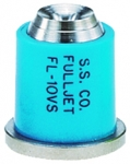 FL-10VS, SIZE 10 FULLJET WIDE ANGLE FULL CONE SPRAY TIP NOZZLE STAINLESS LIGHT BLUE (CALL OR EMAIL FOR REGULAR PRICING)
