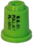 FL-15VC, SIZE 15 FULLJET WIDE ANGLE FULL CONE SPRAY TIP NOZZLE LIGHT GREEN (CALL OR EMAIL FOR REGULAR PRICING)