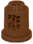 FL-5VC, SIZE 5 FULLJET WIDE ANGLE FULL CONE SPRAY TIP NOZZLE BROWN (CALL OR EMAIL FOR REGULAR PRICING)