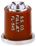 FL-5VS, SIZE 5 FULLJET WIDE ANGLE FULL CONE SPRAY TIP NOZZLE STAINLESS BROWN (CALL OR EMAIL FOR REGULAR PRICING)