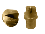 OC-150, SIZE 150 OFF-CENTER FLAT SPRAY TIP NOZZLE BRASS (CALL OR EMAIL FOR REGULAR PRICING)