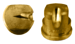 OC-20, SIZE 20 OFF-CENTER FLAT SPRAY TIP NOZZLE BRASS (CALL OR EMAIL FOR REGULAR PRICING)