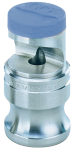 QCK-SS60, SIZE 60 QUICK FLOODJET SPRAY TIP NOZZLE STAINLESS STEEL BLUE