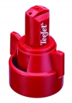 SJ3-VR-X1.0, STREAMJET 3 ORIFICE TIP WITH VARIABLE RATE ORIFICE, .21-.93 GPM (RED) (CALL OR EMAIL FOR REGULAR PRICING)