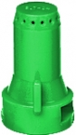 SJ7-015-VP, SIZE 015 STREAMJET 7 ORIFICE TIP NOZZLE GREEN