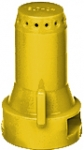 SJ7-02-VP, SIZE 02 STREAMJET 7 ORIFICE TIP NOZZLE YELLOW