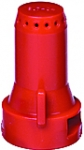 SJ7-04-VP, SIZE 04 STREAMJET 7 ORIFICE TIP NOZZLE RED