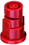TF-VP2, SIZE 2 TURBO FLOODJET TIP NOZZLE POLY RED