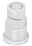 TF-VP4, SIZE 4 TURBO FLOODJET TIP NOZZLE POLY WHITE